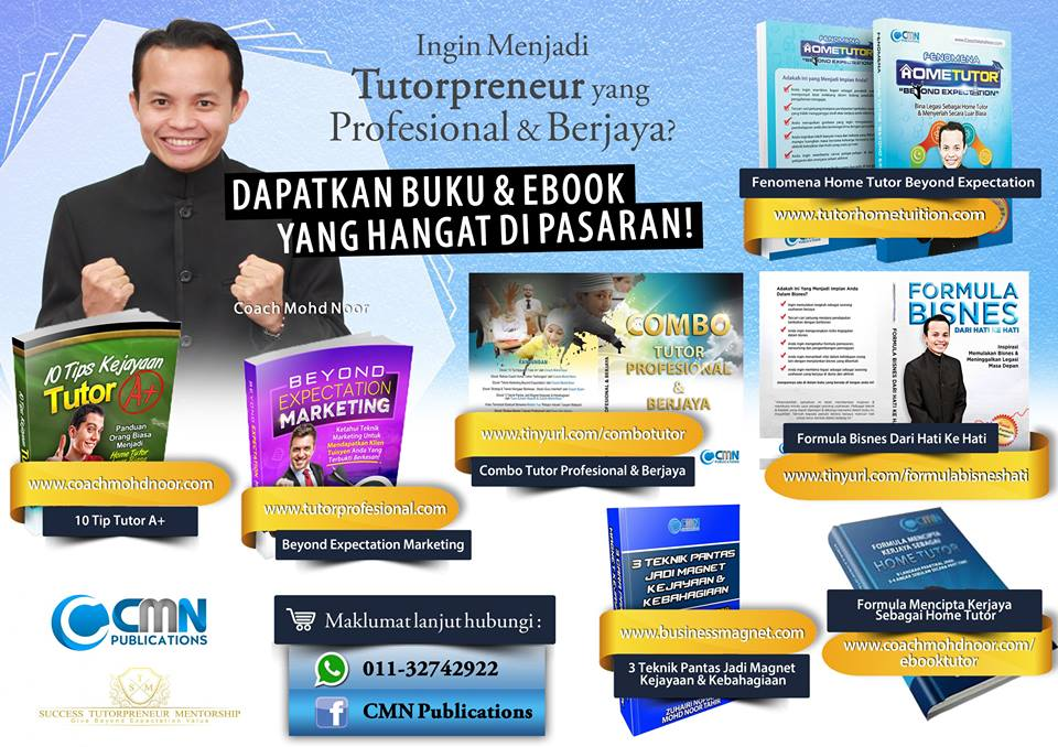 ebook dan buku cmn publications coach mohd noor