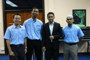 Bersama Imam Muda Asyraf dan team Infitah (Ustaz Arif & Tuan Mior Khairul Anwar)