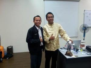 Rizal Hassan, Master PLF, NLP