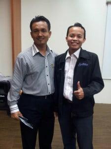 Bersama Tuan Zaidy, Mantop Training & Consultancy