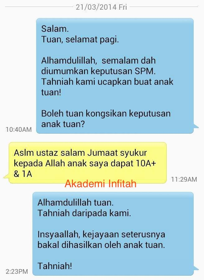 testimoni home tuition home tutor