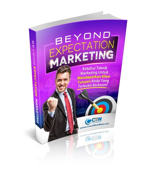 Ebook 'Beyond Expectation Marketing' PERCUMA!