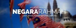 malaysia menuju negara rahmah
