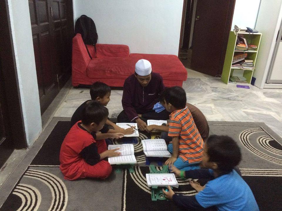 projek anak yatim mengaji iqra percuma